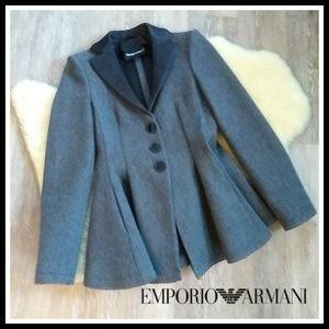🆕 N.W.O.T. Emporio Armani Peplum Blazer Jacket